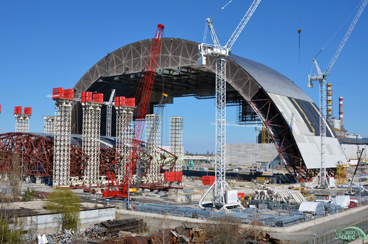 World S Largest Movable Structure To Be Installed Over