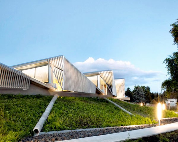 Skylab Architecture, Portland, Oregon, Water Treatment facility, green roof, grass roof, landscape, architecture, daylighting, sustainable, green, ecosystem