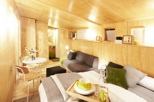 Daniel Mayo Pardo, ViVood, Tiny home, prefab home, Pop-Up Wooden Home, Spanish design, Architecture, Solar Power, Tiny Homes, Green Materials, energy efficiency, Daylighting, Prefab Housing,