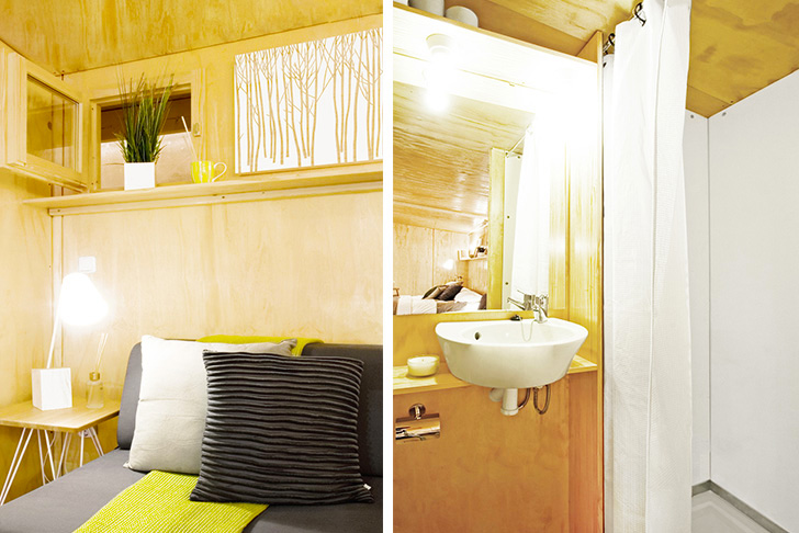 Vivood tiny pop up wooden home from spain comes with - Tiny house espana ...