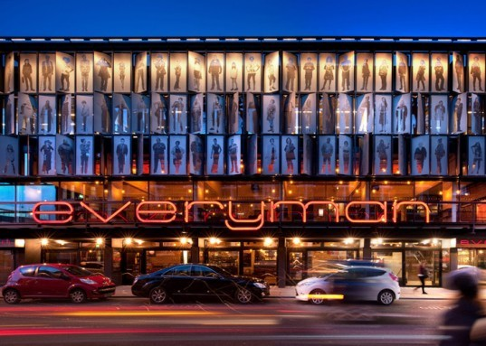 Liverpool, theatre, Everyman Theatre, reclaimed, recycled, BREEAM, theater, brick, auditorium, natural ventilation, sustainable, green, England, Haworth Tompkins