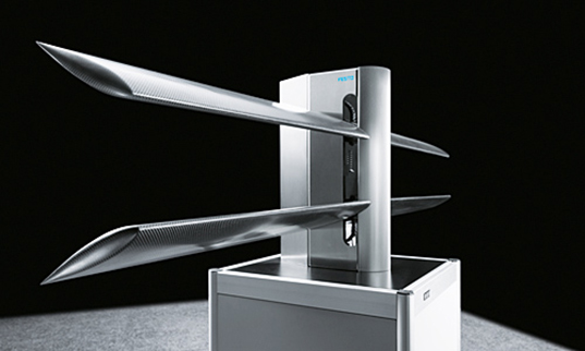 Festo's DualWingGenerator Catches the Wind Like Flapping Bird Wings