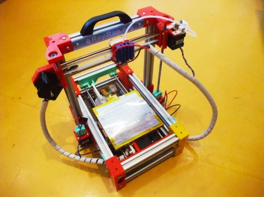 FoldaRap, FoldaRap 3d printer, 3d printers, foldable 3d printer, self-replicating 3d printer, RepRap 3d printer, 3d printing, crowdfunding campaign 3d printer, ulele campaign, green gadgets, open-source design, open-source 3d printer
