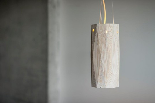 hollow lamp daniel bystrm kristjn kristjnsson designers u0026 forests wood lighting