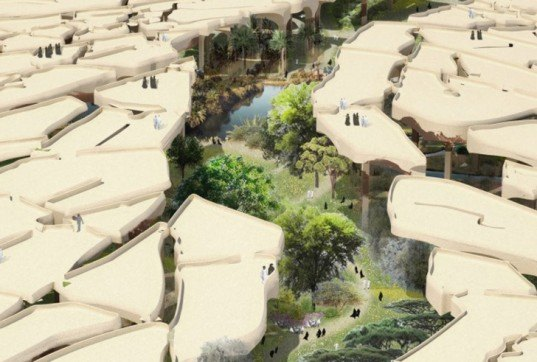 green design, eco design, sustainable design, Al Fayah Park, Thomas Heatherwick, abu dhabi park, canopy park, sustainable oark abu dhabi