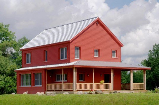 Michigan, Jung, Jung Haus, passive, passive house, passive solar, Fine Homebuilding, passive, eco house, eco friendly, sustainable, sustainable house, oak savannah