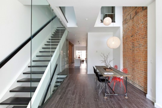 Lady Peel House, Atelier RZLBD, daylighting, historic renovation, green renovation, toronto,