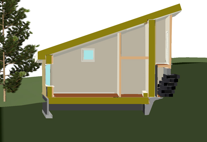 How to Design a Passive House Off-Grid, and Without Foam ...