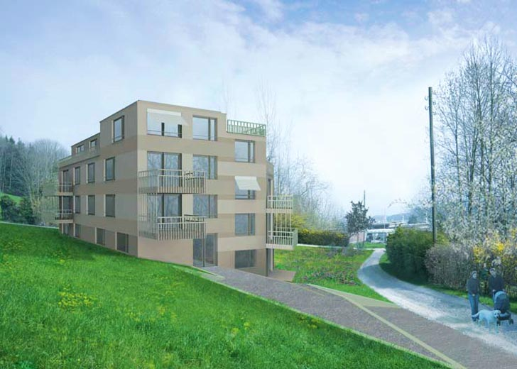 Europe S First Chemical Free Housing Complex Was Recently Completed Near Zurich In Switzerland The Development Carefully Designed For Those Suffering