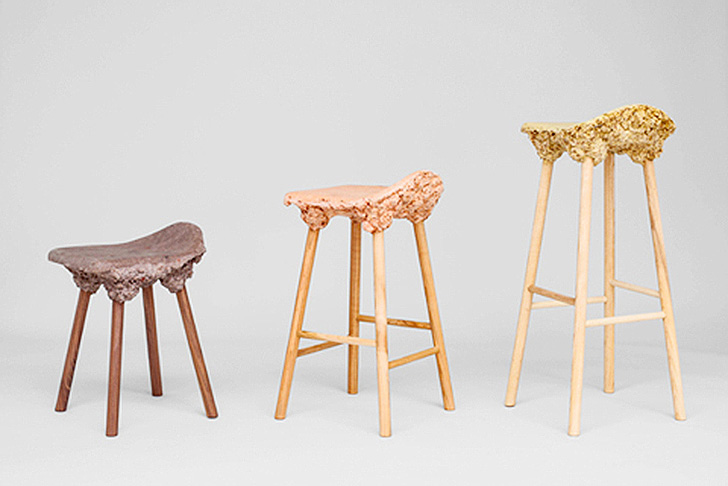 sawdust furniture. Marjan Van Aubel And James Shaw\u0027s Recycled Wood Well Proven Chairs « Inhabitat \u2013 Green Design, Innovation, Architecture, Building Sawdust Furniture -