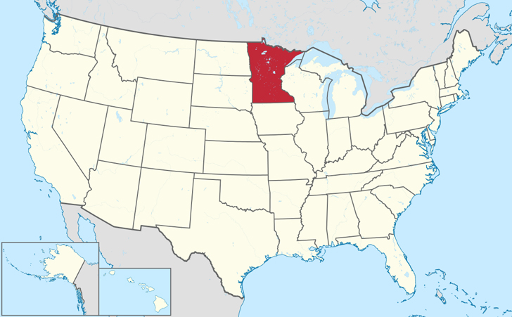 There is a Forest in Minnesota Shaped Exactly Like the State Itself ...