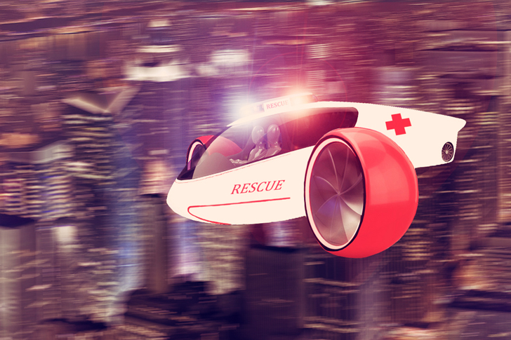 Hybrid Skylys Flying Car is an Electric Vehicle, Helicopter and Plane Rolled Into One