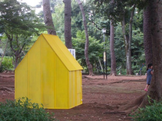 Origami Houses, Architecture Global Aid, emergency shelter, disaster shelter, origami folding house