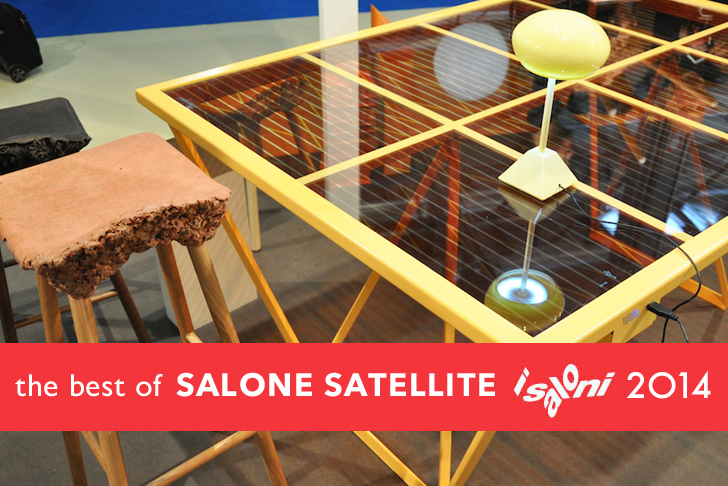 The best green designs from salone satellite at milan for Salone satellite