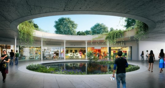 Ambitious Urban Regeneration Plan for Mexico's Ciudad Deportiva Aims to Reconnect the City with Water