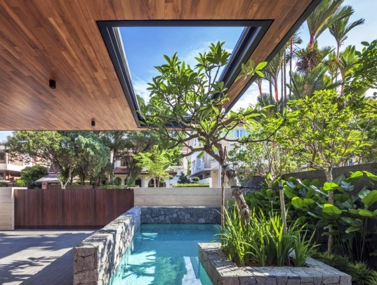 Wallflower Architecture, Far Sight House, green design, singapore, sustainable design, green architecture, sustainable building, natural ventilation, sustainable architecture, bukit timah,