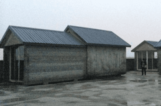 Chinese company assembles 10 3d printed concrete houses in a day for less than 5 000 each - Shanghai winsun decoration engineering co ...