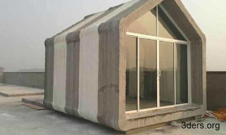 Chinese Company Assembles 10 3D-Printed Concrete Houses in a Day for Less Than $5,000 Each