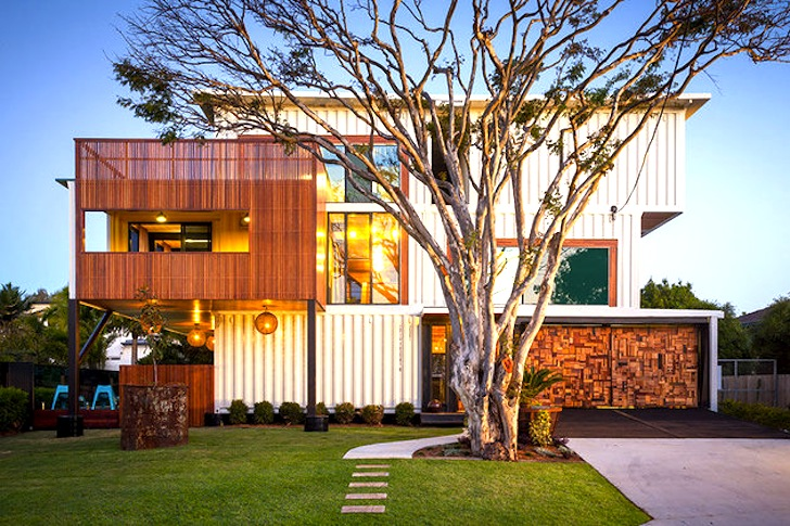 Australia's Largest Cargotecture House is a Modern Masterpiece Built from  31 Shipping Containers | Inhabitat - Green Design, Innovation,  Architecture, ...