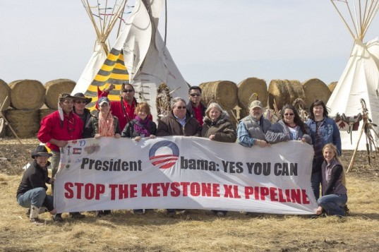 KXL, Keystone XL Pipeline, Nebraska, Cowboys and Indians Alliance, Obama, Reject and Protect