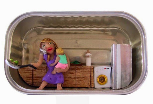 Sardine Can Dioramas Paint a Voyeuristic Picture of People in their Apartments