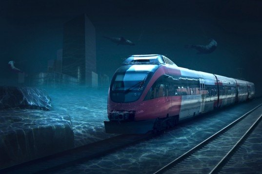 China high speed train, China underwater train, China undersea train, Under-Sea Train to the United States, China-Russia-Canada-America rail line, Bering Strait undersea train