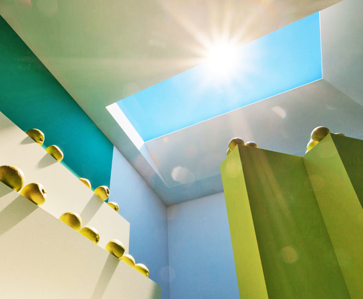Brilliant Invention Brings LED Sunshine to Windowless Rooms