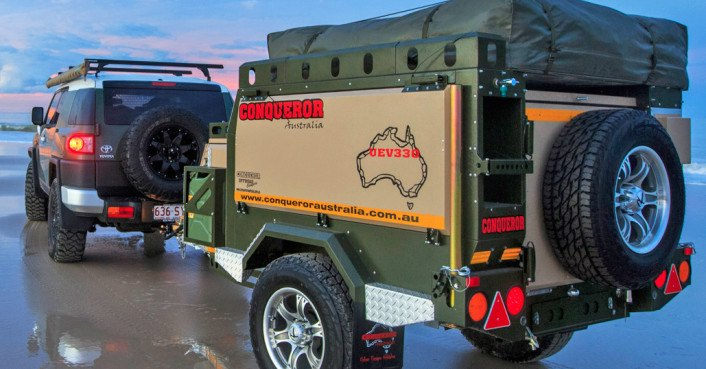 Conqueror Makes The Ultimate Self Sufficient Campers For