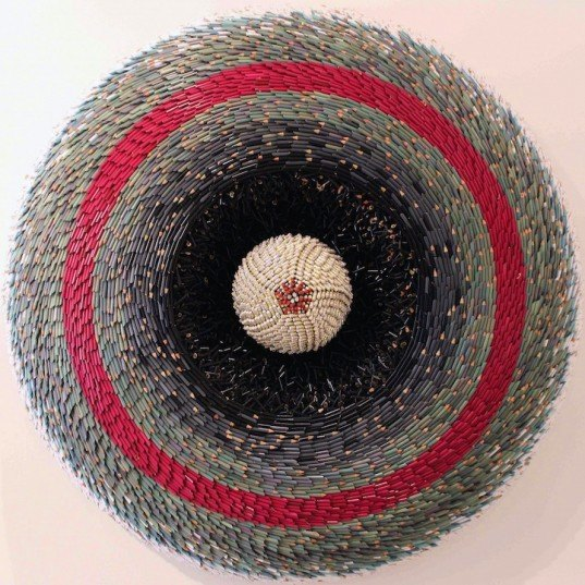 green design, eco design, sustainable design, Federico Uribe, Pencil sculptures, up cycled art, recycled pencils
