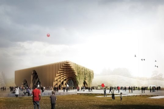France S 2015 World Expo Pavilion Challenges World Hunger