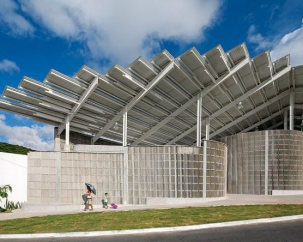 Herzog & de Meuron, Arena de Morro, Brazil, architecture, gym design, Mãe Luiza neighborhood, urban design, urban revitalization, favela redevelopment