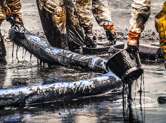 Oil Company Announces That Oil Spills Are Really Good For