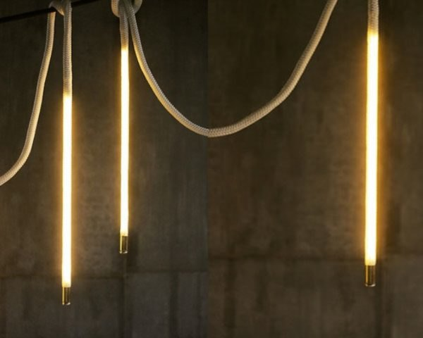 view bench rope lighting. Interesting View Luke Lamp Cou0027s Center Pendant Rope Lights Give Energy Efficient LEDs An  Elegant New Form  Inhabitat  Green Design Innovation Architecture  In View Bench Lighting E