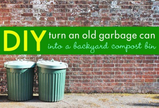 DIY: Backyard Composter from a Garbage Can + What Can Be Tossed Into It |  Inhabitat - Green Design, Innovation, Architecture, Green Building - DIY: Backyard Composter From A Garbage Can + What Can Be Tossed Into