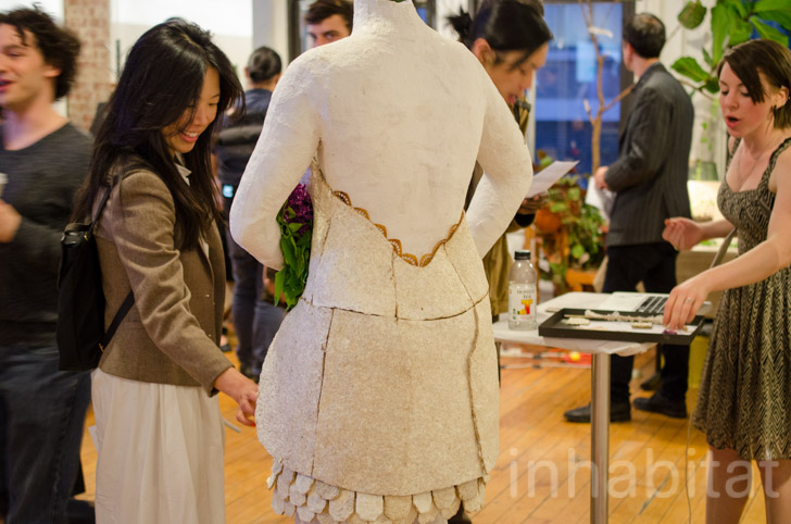 NYU ITP Spring Show Growable Gown Back « Inhabitat – Green Design ...