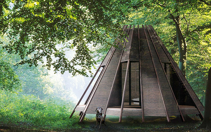 Teepee Inspired Home Office Nooks Double As A Personal Raft