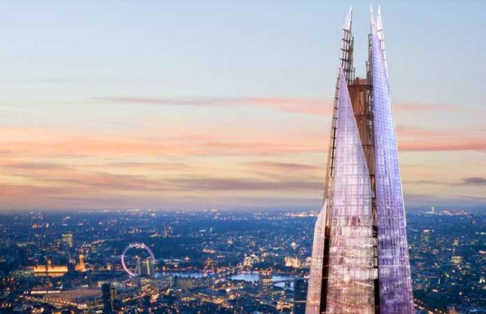 green design, eco design, sustainable design, Shangri-La Hotel London, The Shard, Europe's tallest building, Renzo Piano