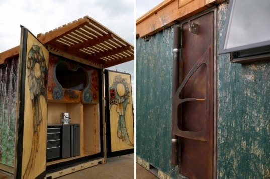 Zulu Queen Container, Rhino Cubed, shipping container, micro home, tiny home, cargotecture
