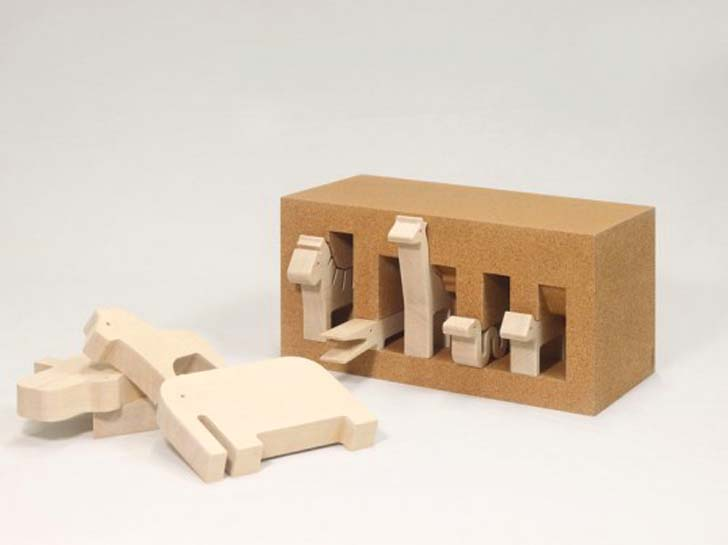 A New Twist On An Old Classic Wooden Toy Animals By Bleebla