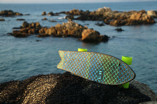 Bureo Launches the World's First Skateboard Made From