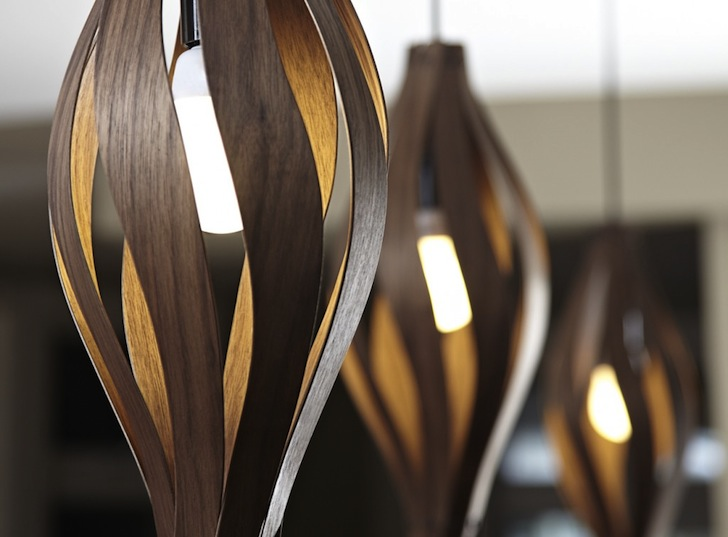 MacMasteru0027s Floral Inspired Lamps Lure You In With Seductively Crafted  Wooden Curves Iris Floor Lamp U2013 Inhabitat   Green Design, Innovation,  Architecture, ...