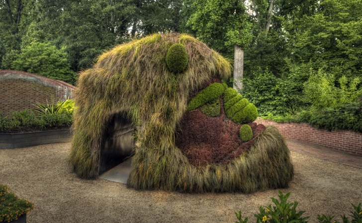 Fantastical Living Plant Sculptures Spring To Life At The