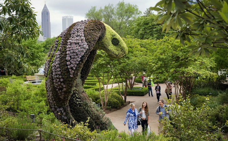 Mosaiculture Atlanta Botanical Gardens « Inhabitat U2013 Green Design,  Innovation, Architecture, Green Building