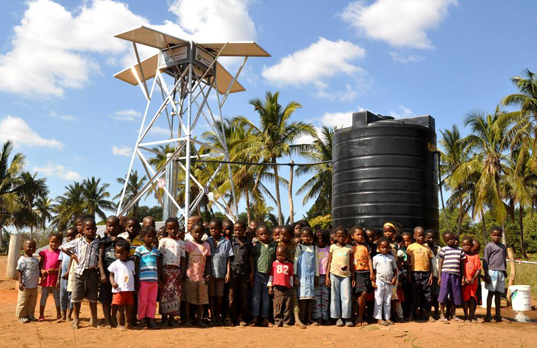 NSP Solar Pump by Pumpmakers, open-source water pump, solar-powered water pump, Dietmar Stuck, safe drinking water, corrosion-proof water pump