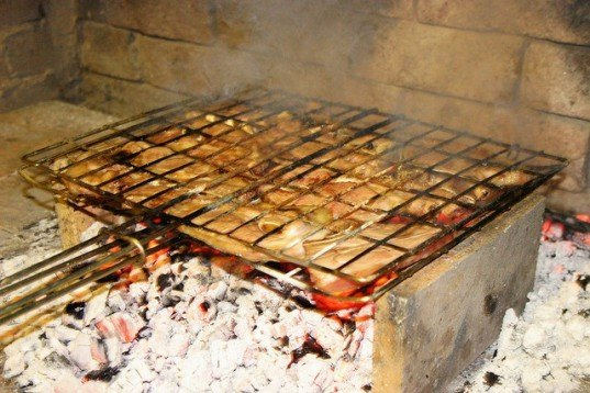 braai, barbecue, grill, meat, south america, chile,