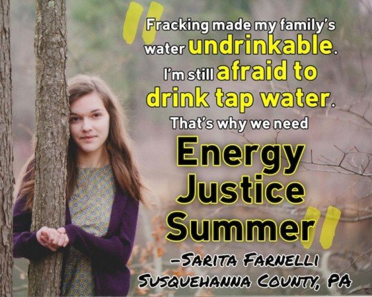 energy, justice, summer