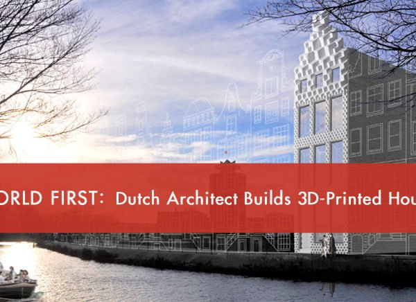 DUS Architects, 3D printed house, 3D printing, KamerMaker, Kamermaker, Dutch, Netherlands, 3D house, bioplastic, canal house, 3D canal house