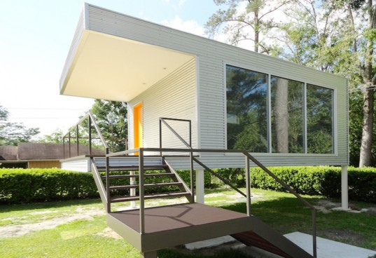 ASUL prefab homes, ASUL modular housing, modular housing, prefab housing, Savannah Think Tank, CSCP Consult, modular construction systems, steel frame home, flood zone FEMA, modular architecture, home office design