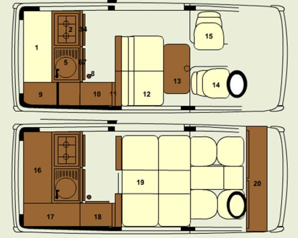 Binky Campervan: Rent a Tiny Home on Wheels for Your Next