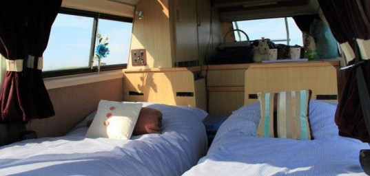 green design, eco design, sustainable design, Binky Campervan, tiny homes, RV, camping